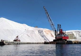 salt crane dozer