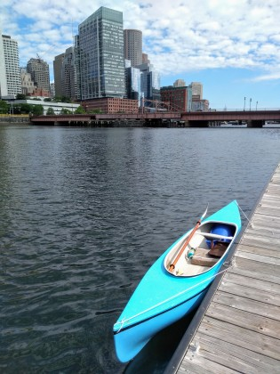 Fort Point kayak launch
